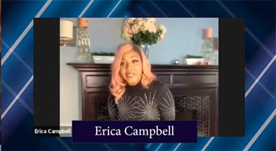 erica campbell, the group fire, jekalyn carr